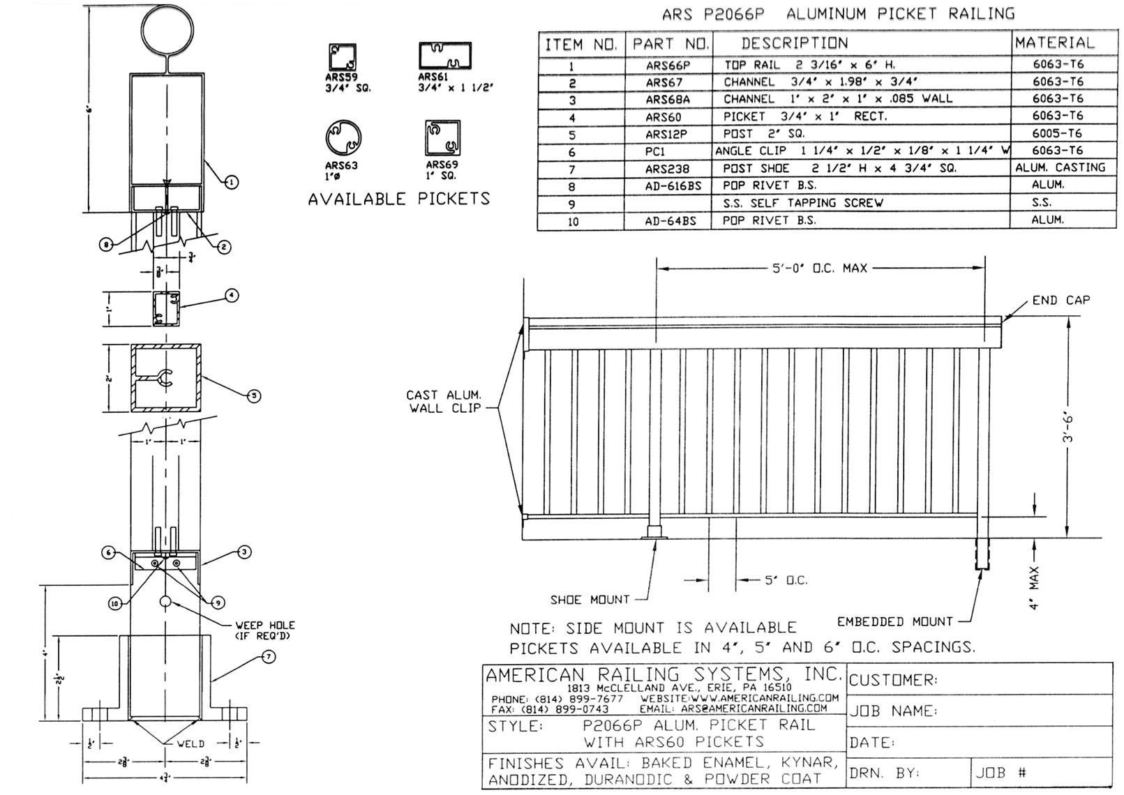 Osha handrail guardrail specifications cad drawing